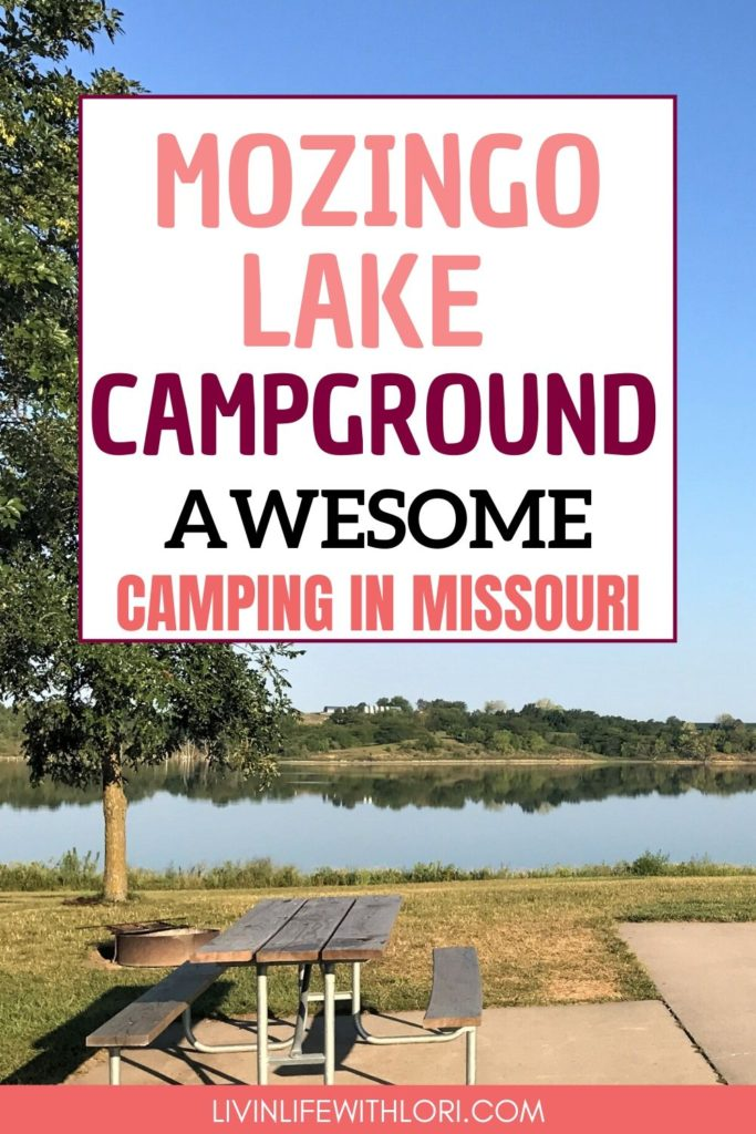 Mozingo Lake Campground Awesome Camping in Missouri