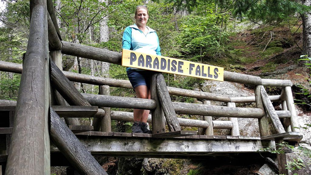 Paradise Falls Lost River Gorge