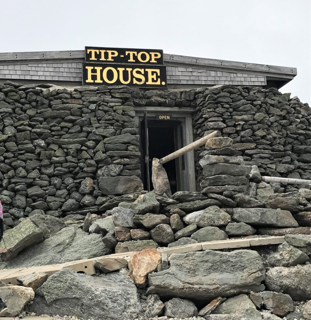 Tip Top House at the Top of Mt. Washington