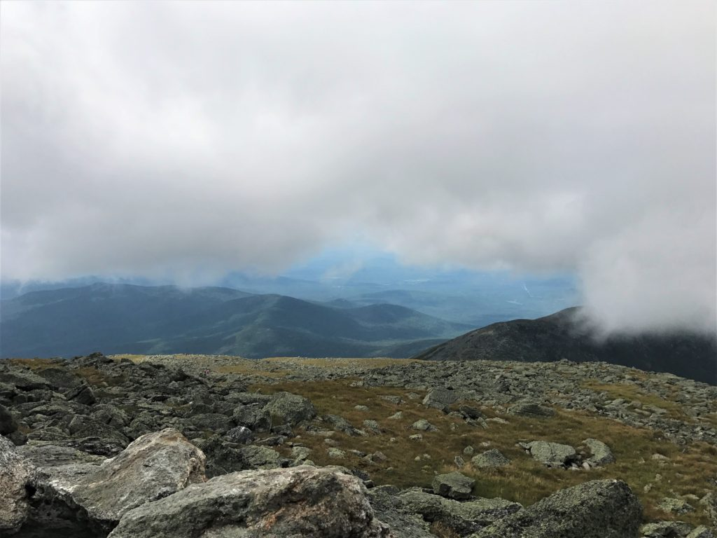 View from top of Mt. Washington
