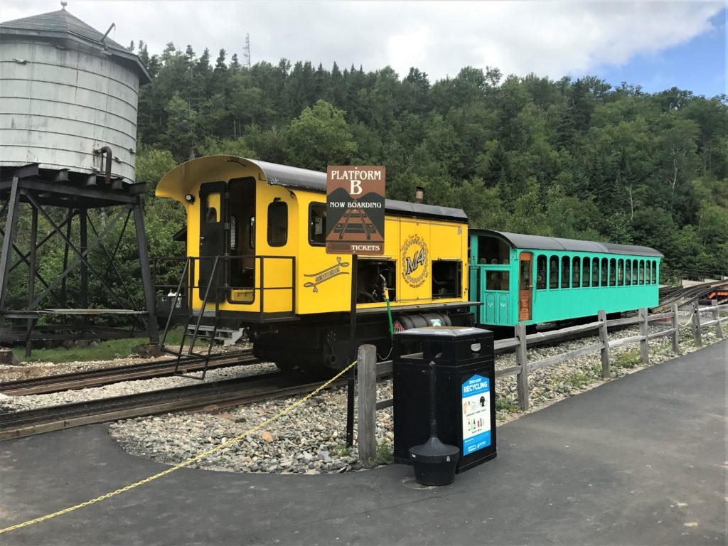 The Cog Railway Station