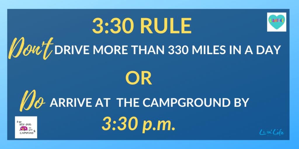 RV Camping Tip