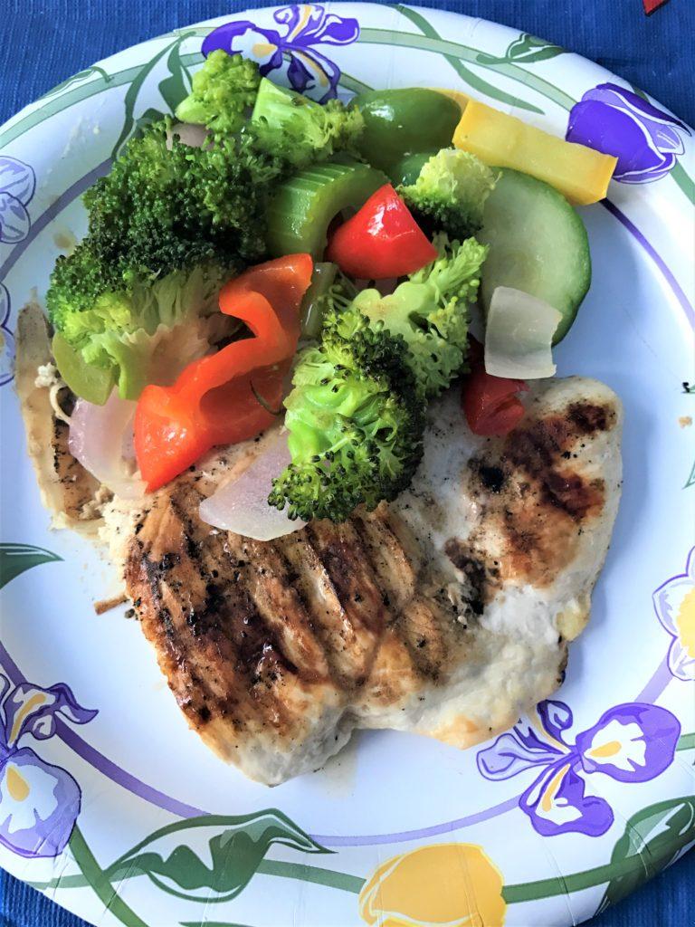 Grilled Chicken & Veggies