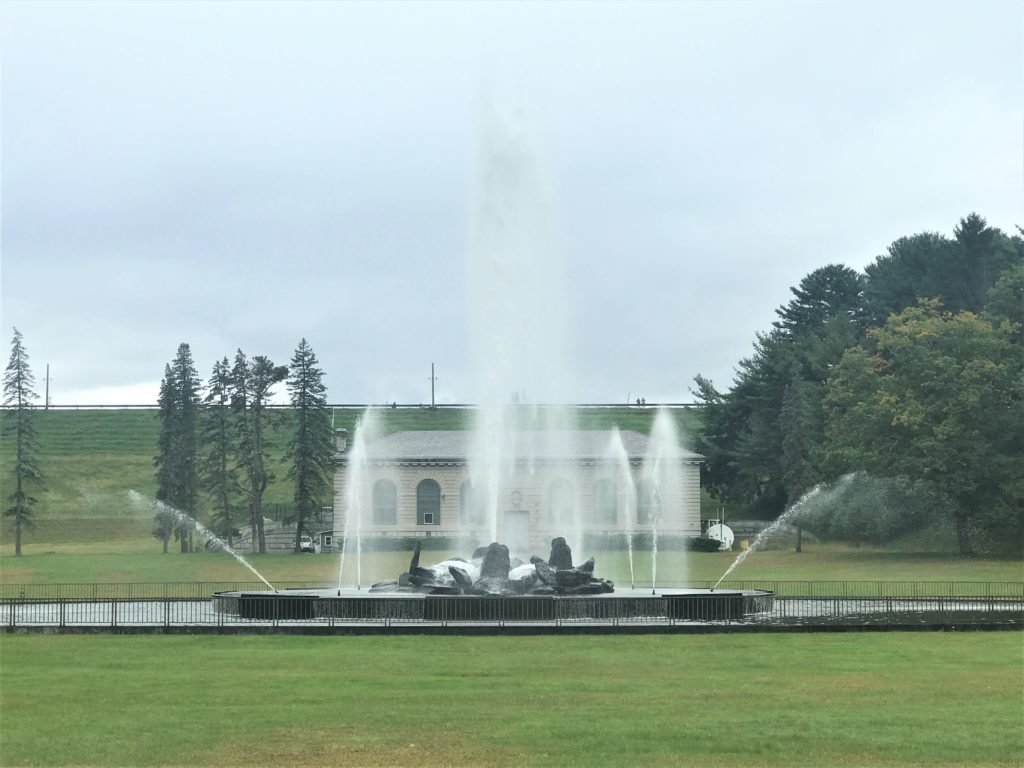 Fountain at Ashokan Reservoir
