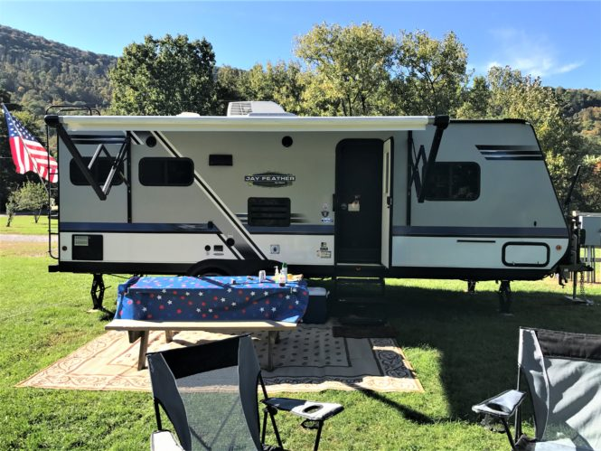RV Camping at the campground
