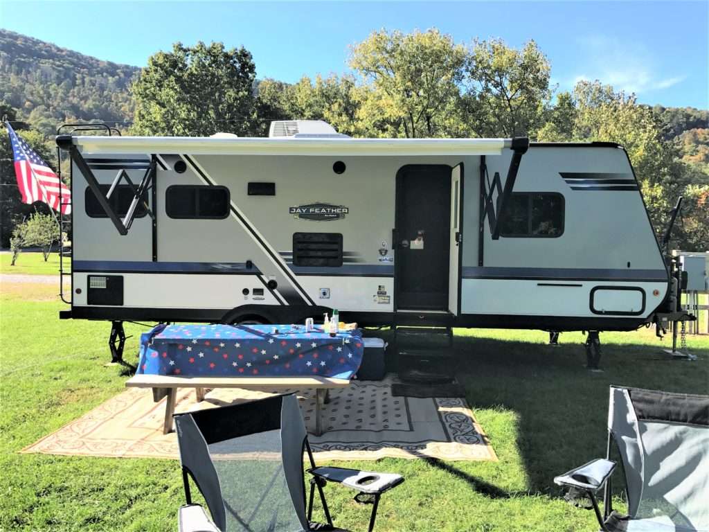 Jayco Trailer at Sleepy Hollow Campgrounds
