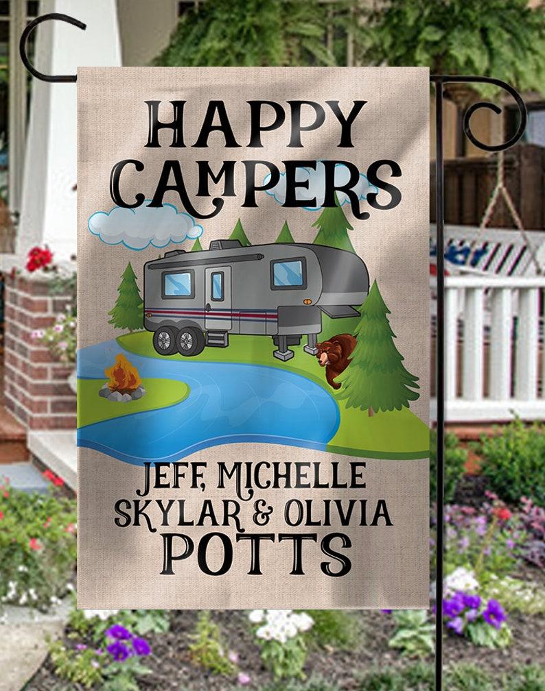 Garden Camping Flag