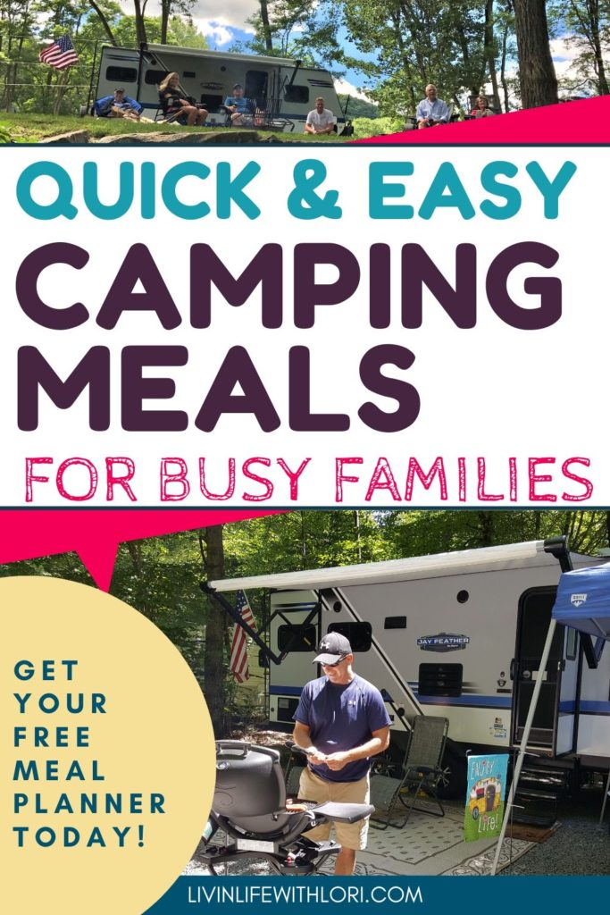 Quick and Easy Camping Meals For RV Camping