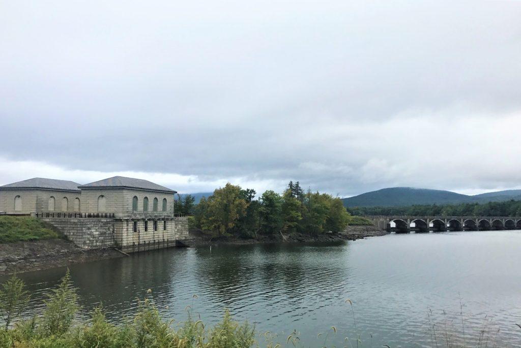 Roadway to the Ashokan Reservoir