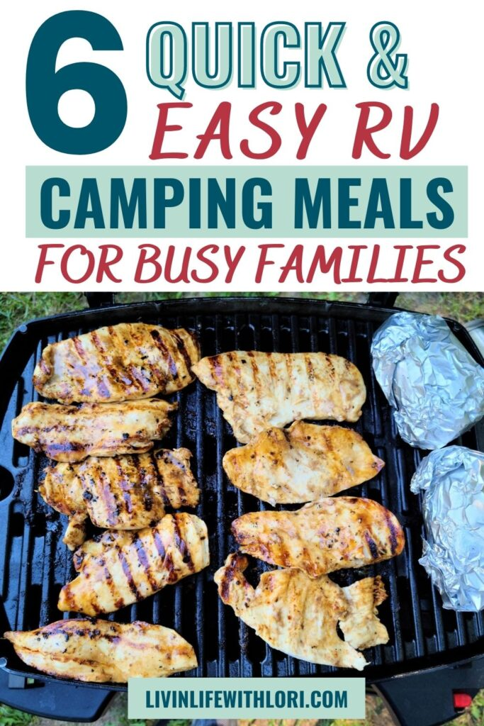 quick and easy rv camping meals