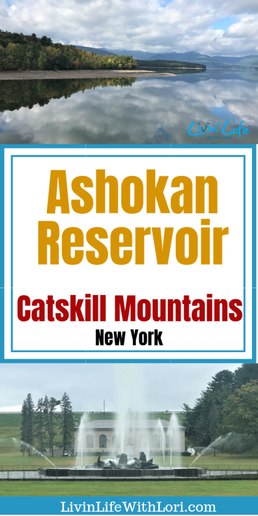 The Ashokan Reservoir in the Catskill Mountains is a beautiful place to view the Catskill Mountains. Take a walk, bike or jog along the spillway for an awesome view of the reservoir!