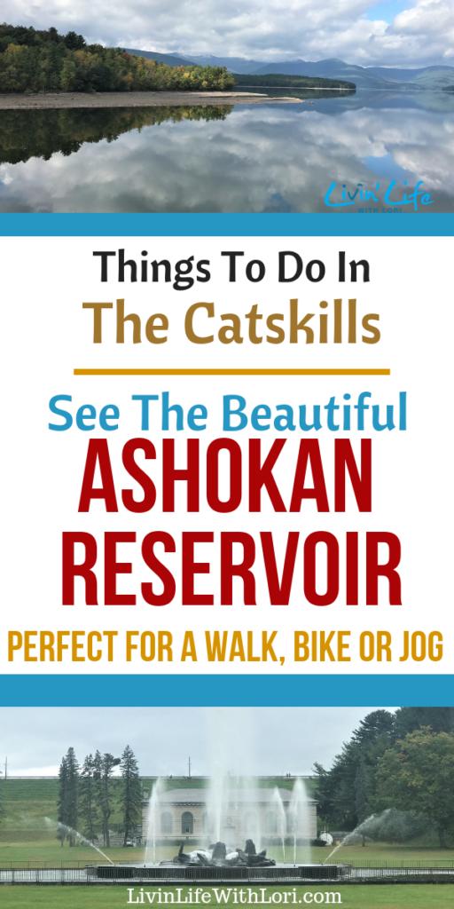 Ashokan Reservoir Catskill Mountains New York