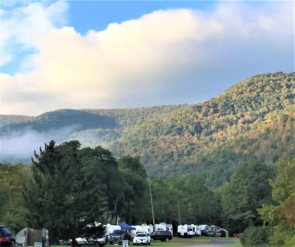 Sleepy Hollow Campground Mountains Fall 2018