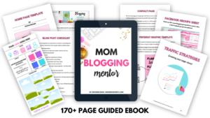 Mom Blogging Mentor ebook