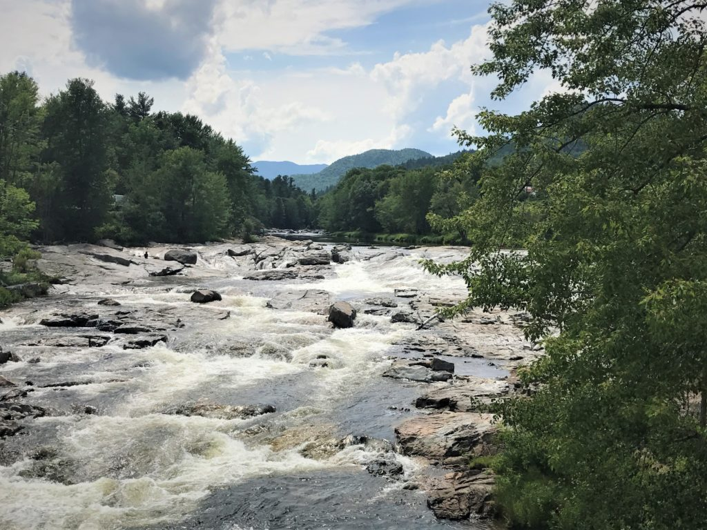 Ausable Rapids at Jay Covered Bridge
