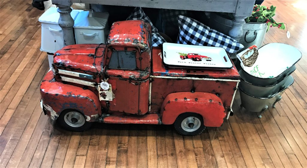 Cute Truck at the Pioneer Woman Mercantile