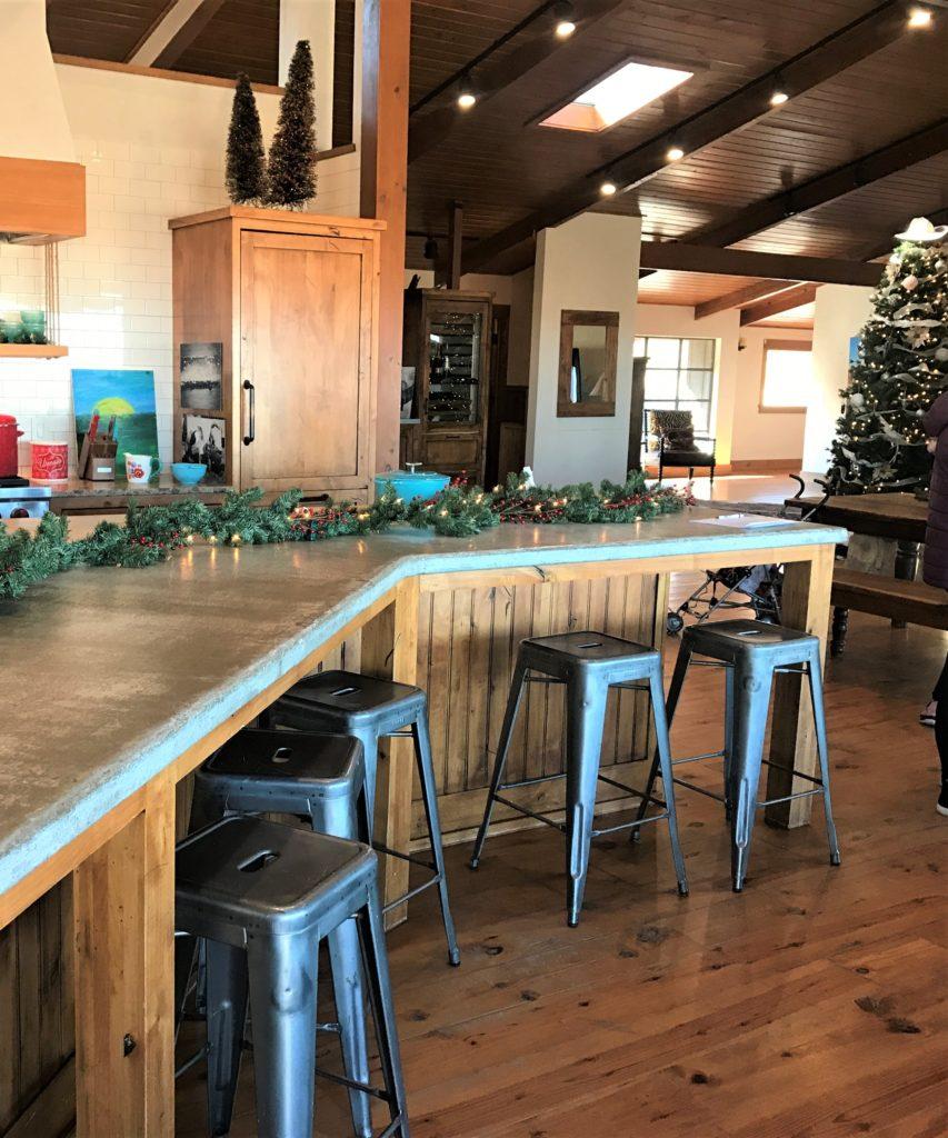 Pioneer Woman Lodge counter
