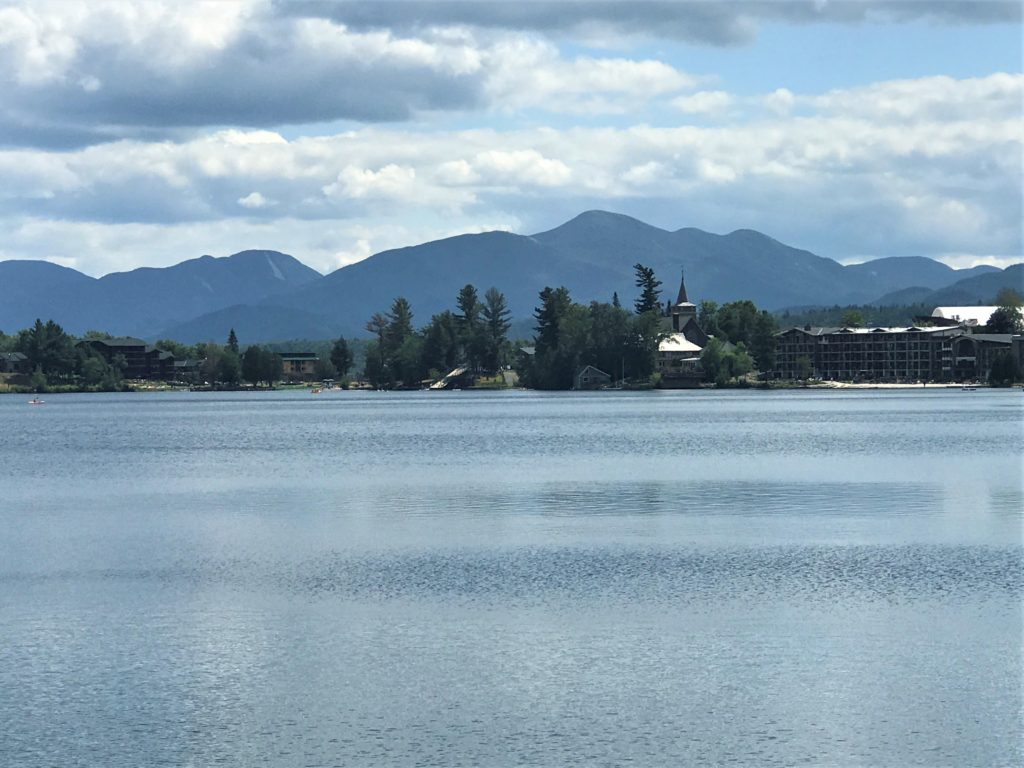 Mirror Lake in Lake Placid New York