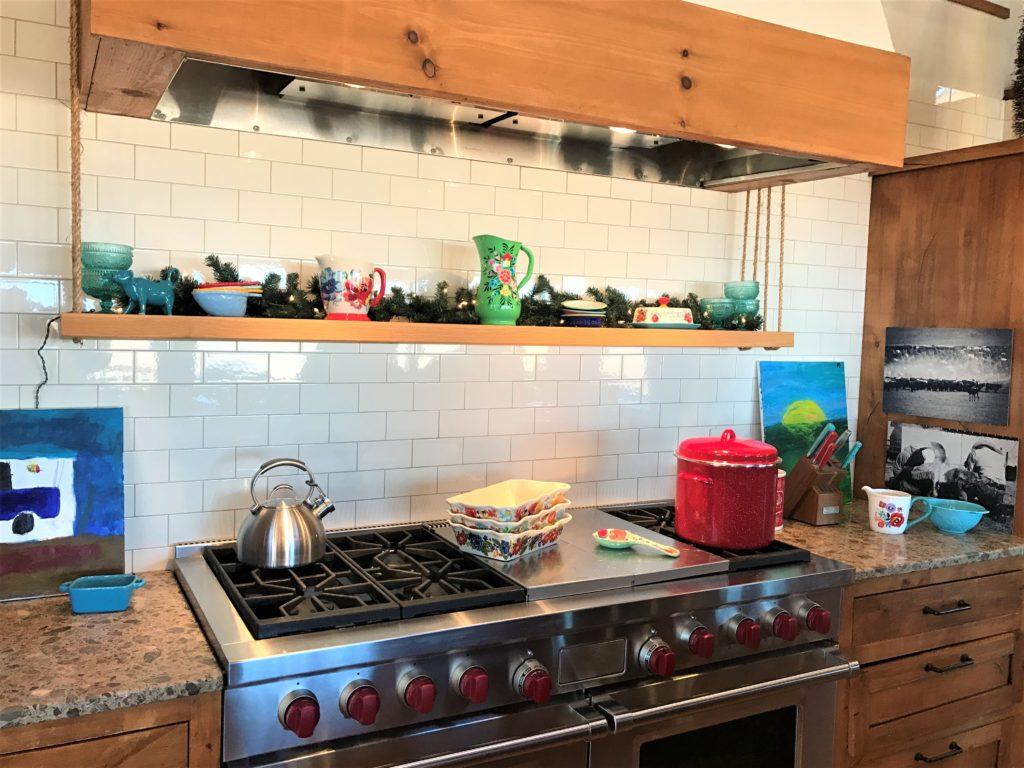 Pioneer Woman Lodge Kitchen