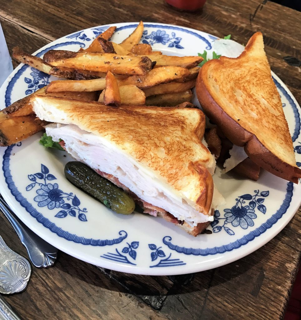 Turkey Club at the Pioneer Woman Mercantile Restaurant