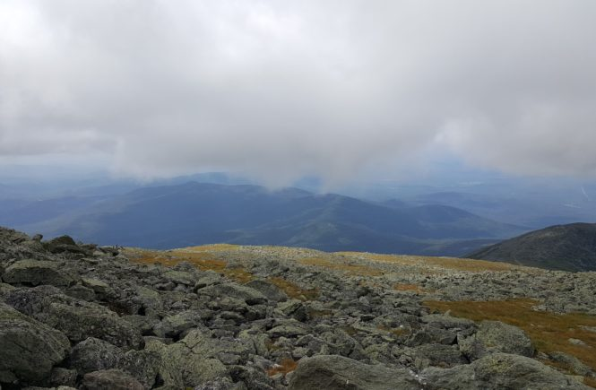 View from Top of Mount Washington NH