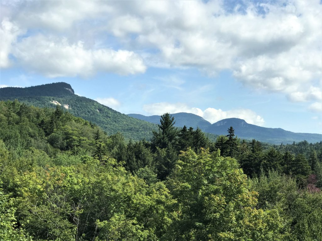 View of Mt. Tremont Kancamagus Highway NH