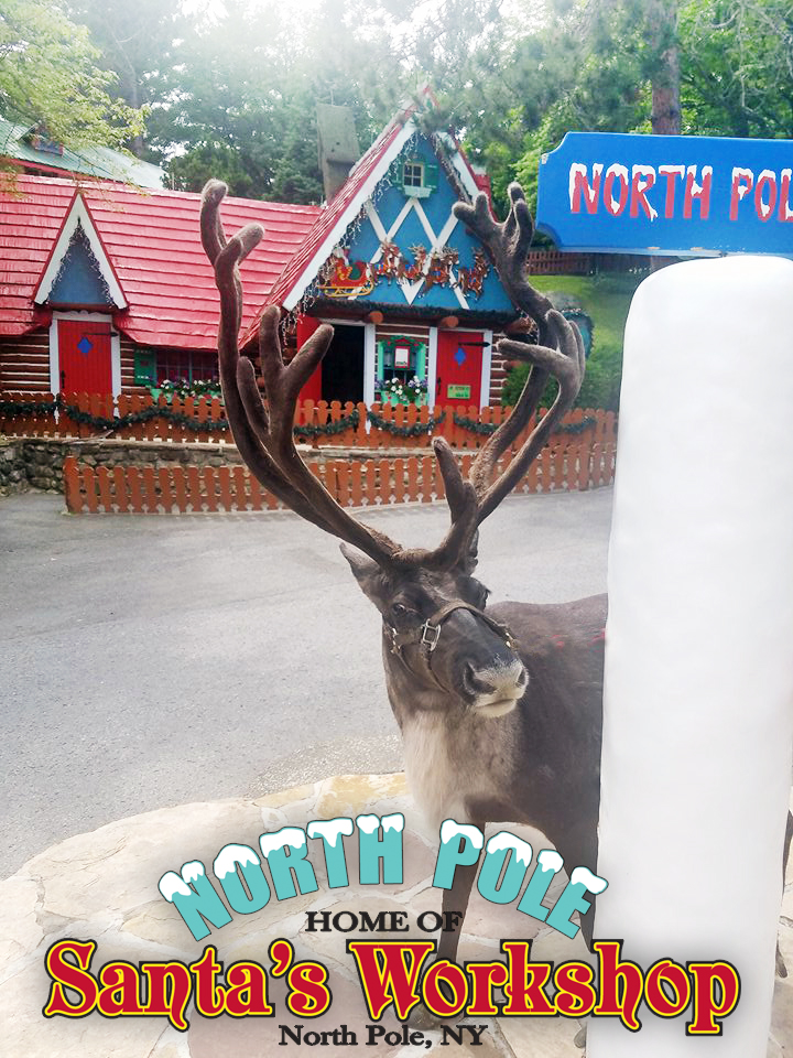 North Pole Home of Santa's Workshop