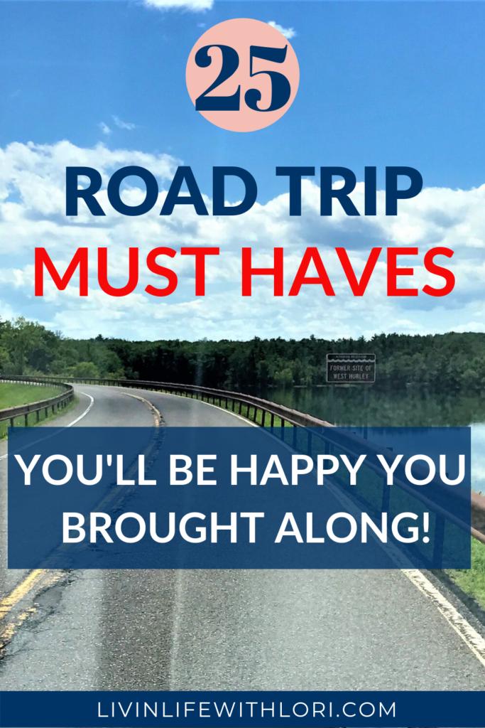 25 Road Trip Essentials