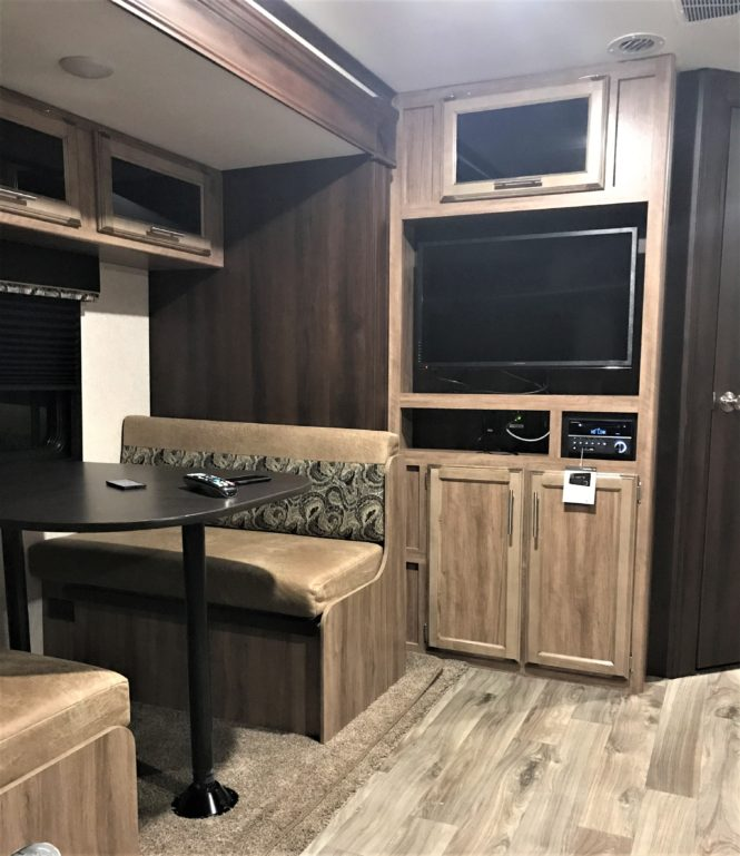How To Make Your RV Dining Room Table Stable | Livin' Life With Lori