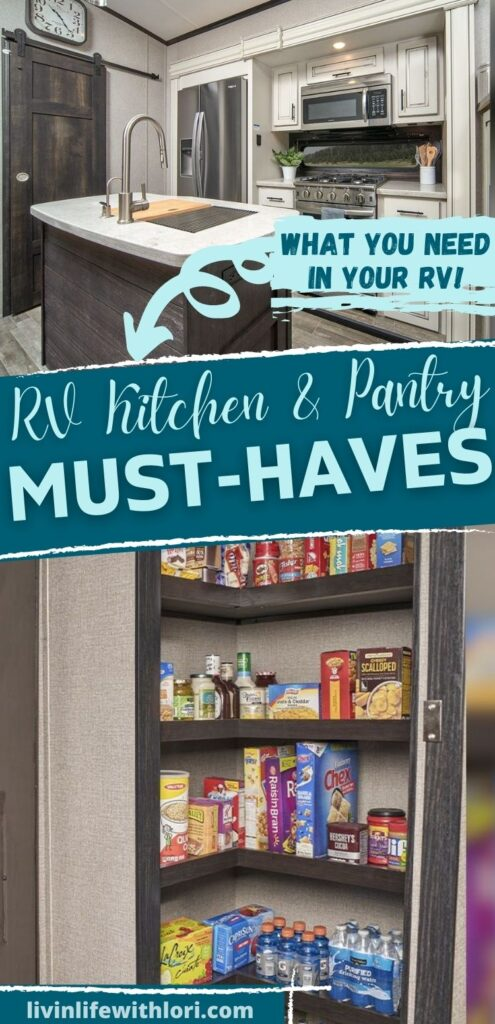 RV Kitchen & Pantry Must Haves