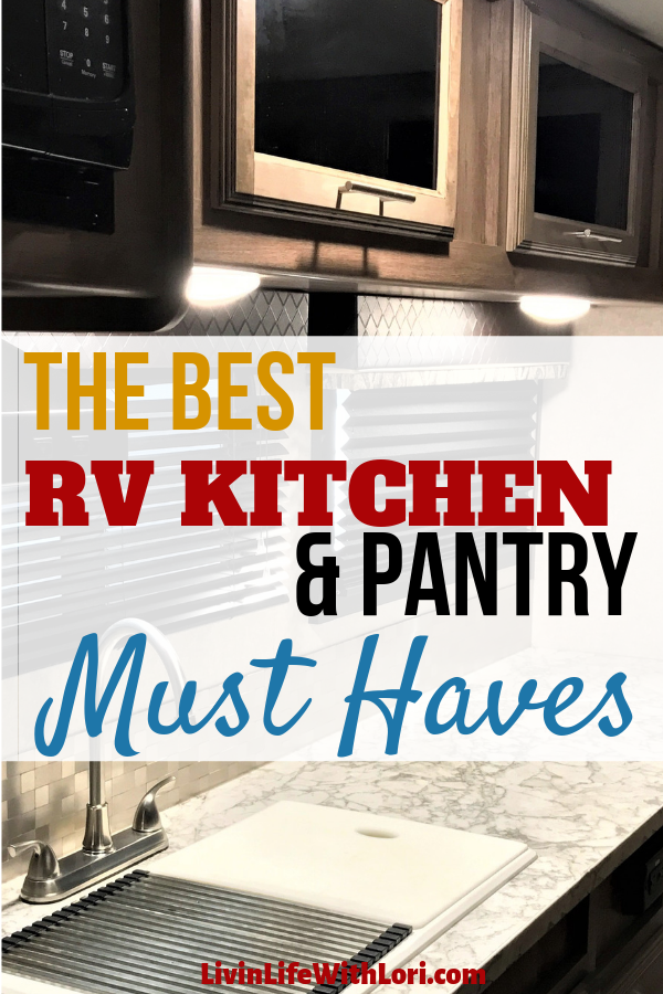 RV Kitchen & Pantry Must-Haves