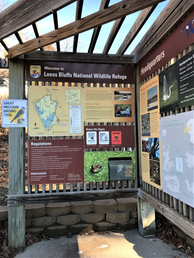 Loess Bluffs Wildlife Refuge Welcome Center