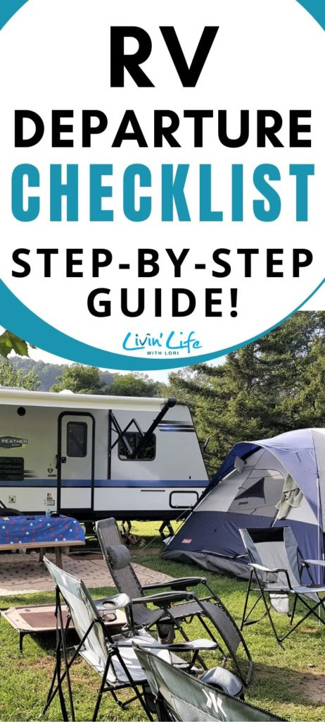 RV Departure Checklist A Step by Step Guide For New RVers
