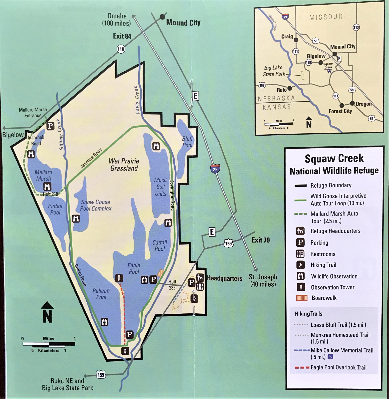squaw creek missouri map Loess Bluffs National Wildlife Refuge Livin Life With Lori Rv