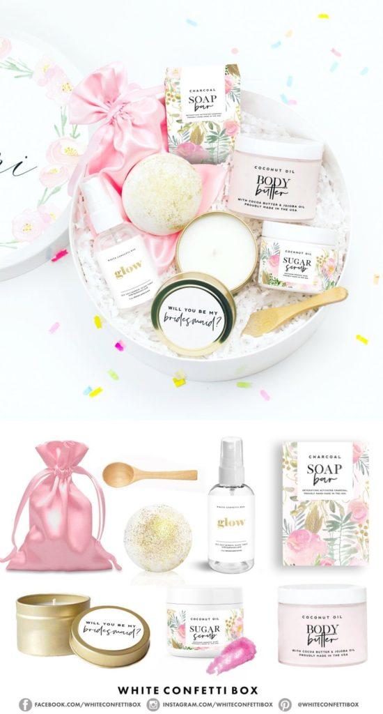 Bridesmaid Spa Gift Basket