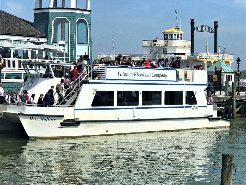 Potomac Riverboat at Old Alexandria Wharf