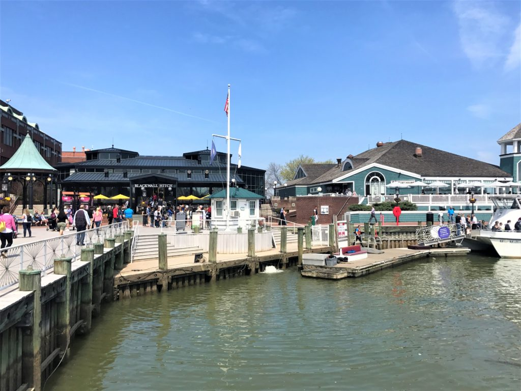 Restaurants on the Wharf in Old Town Alexandria, Virginia