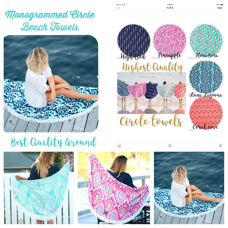 Round Beach Towels