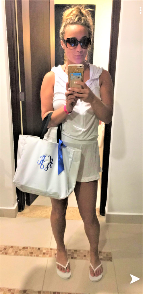 The Bride and her Tote Bag