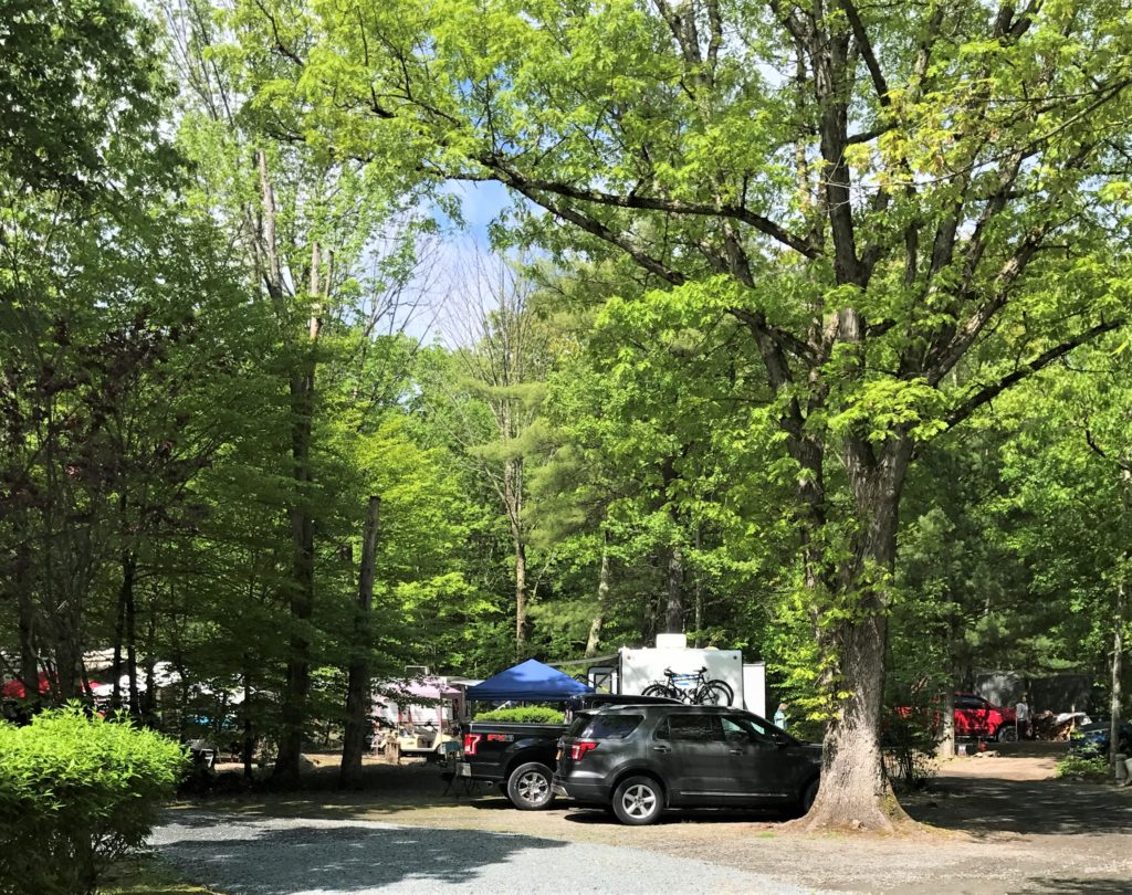 RV Site at Skyway Camping Resort