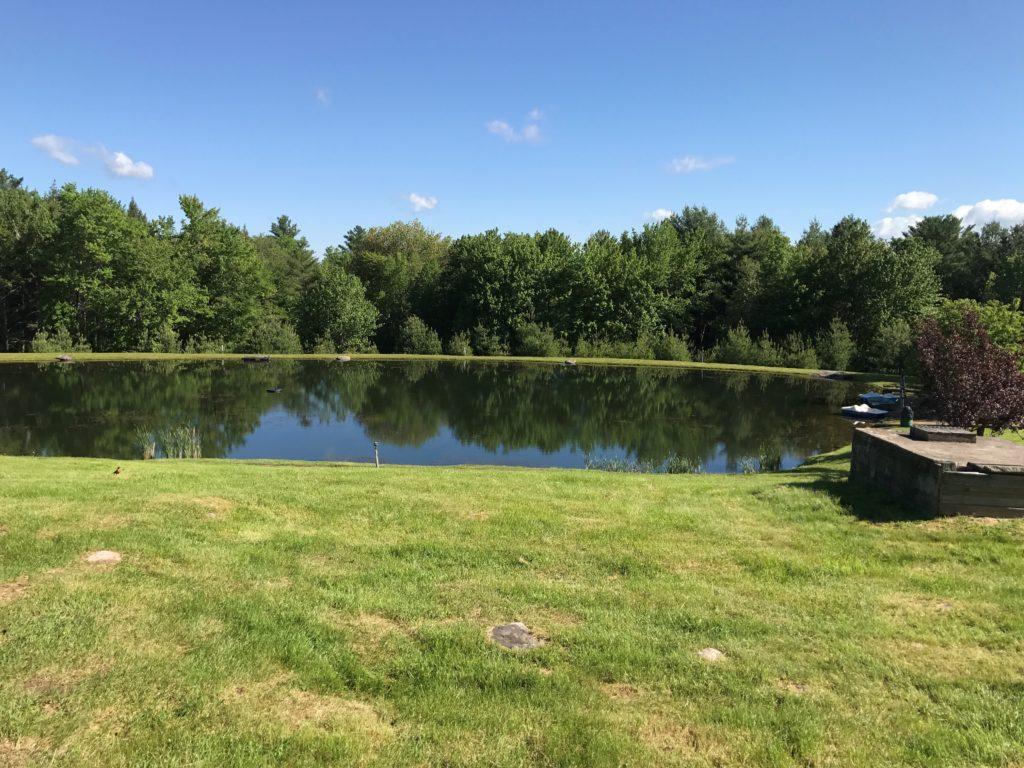pond at Skyway Camping Resort