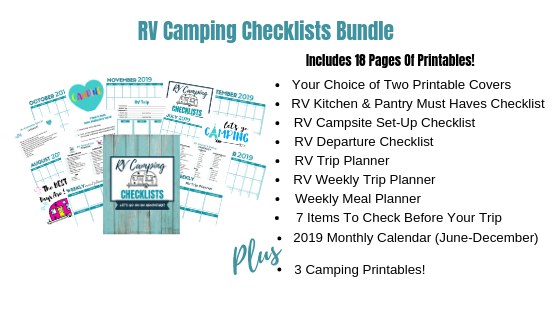 photograph regarding Rv Checklist Printable named How In direction of Quickly System and Set up A Irritation-No cost RV Tenting