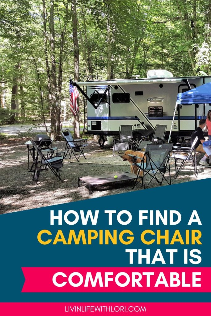 How To Find A Camping Chair That Is Comfortable