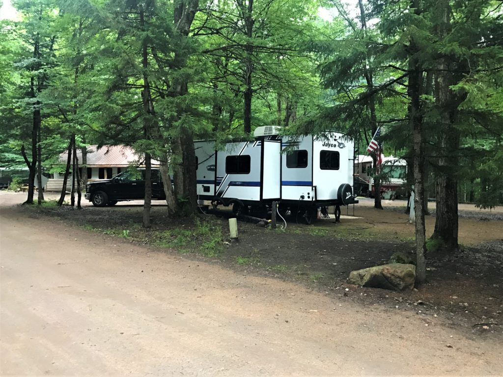 Old Forge Camping Resort RV site