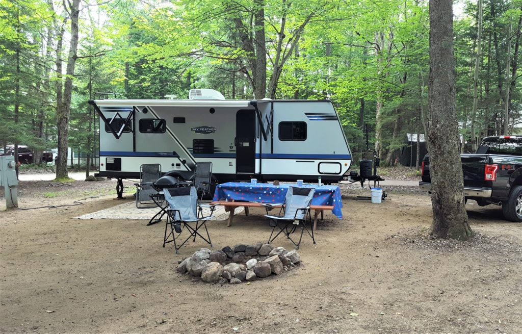 Old Forge Camping Resort RV camping