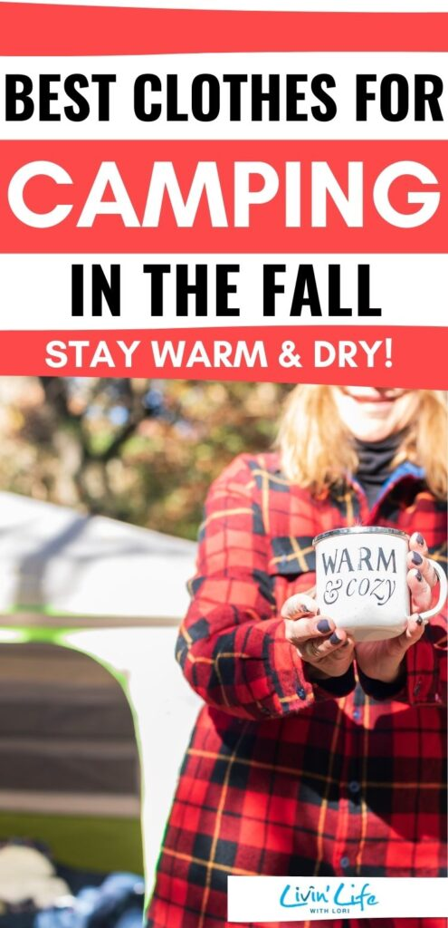 best cloths for camping in the Fall