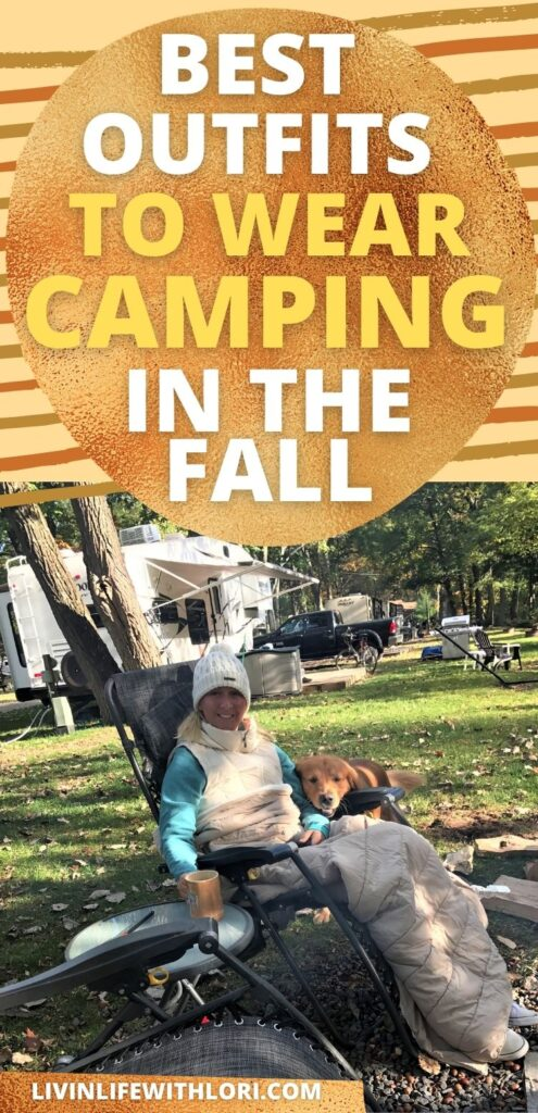 best outfits to wear camping in the fall