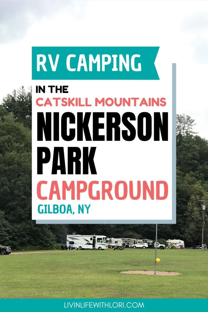 RV Camping at Nickerson Park Campground