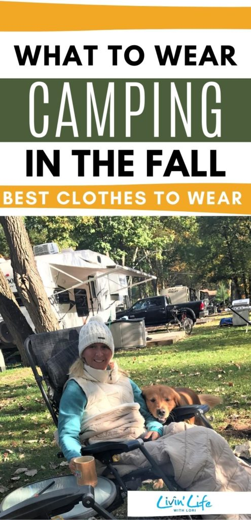 clothes to wear camping in cold weather