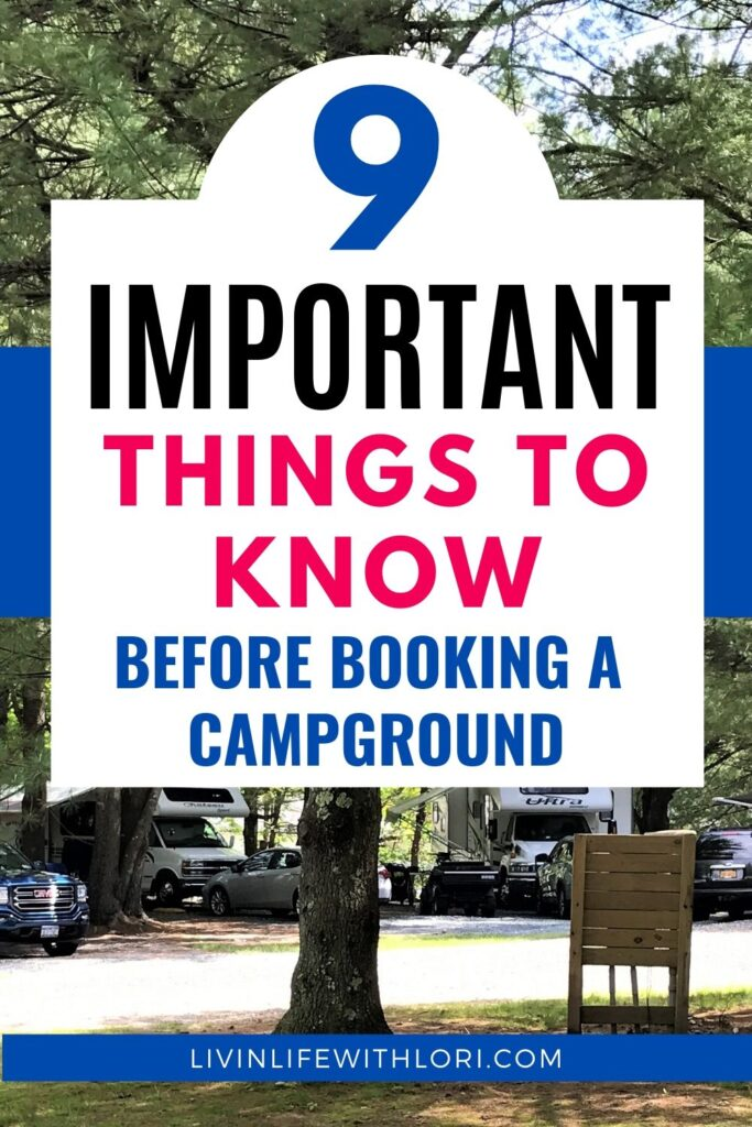 What You Need To Know Before Booking A Campground